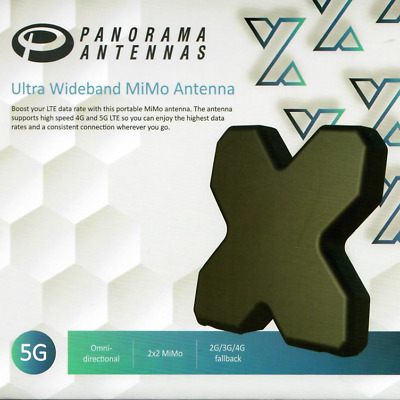 AU89 • Buy Genuine Panorama 3G 4G 4GX MiMo Antenna Suitable For Telstra Advanced Modem