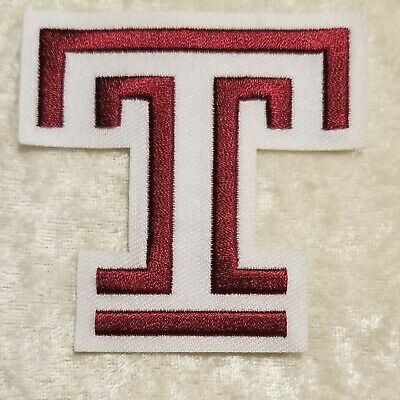 $6.95 • Buy Temple University Owls Iron On Embroidered Patch ~FREE Ship`!!