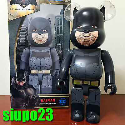$1099.99 • Buy Medicom 1000% Bearbrick ~ DC Comics Batman Be@rbrick Batman Vs Superman Ver