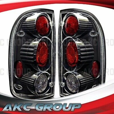 $65.99 • Buy For 2001-2004 Toyota Tacoma Altezza Style Tail Lights Black Housing Clear Lens