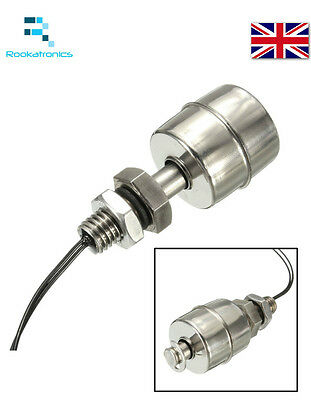 £6.99 • Buy Stainless Steel Vertical Water Level Sensor Float Switch High Quality Free Post