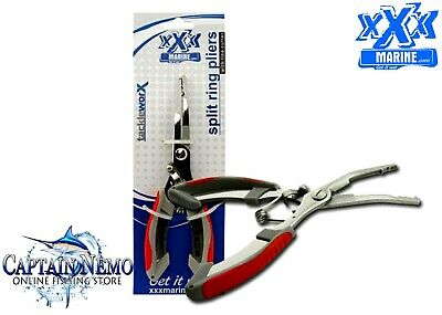 AU14.95 • Buy Xxx Marine Stainless Steel Split Ring Fishing Tool Cutter Tackle Pliers Ft3