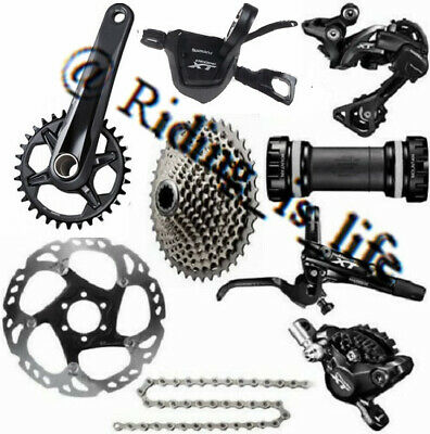 AU1131.99 • Buy New SHIMANO XT M8000 1x11 Speed Complete MTB Groupset 11-40T/42T/46T,170MM/175MM