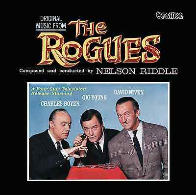 Nelson Riddle - The Rogues - Original Film Soundtrack - CDLK4601 • 13.99£