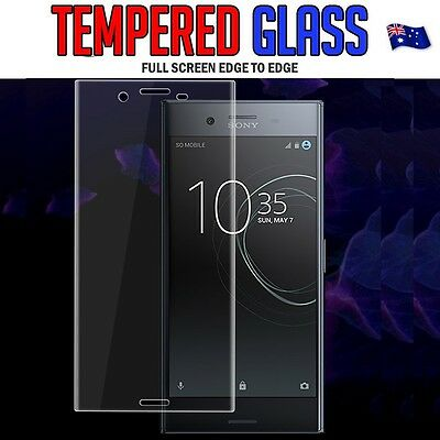 AU7.49 • Buy Curved Tempered Glass Screen Protector For Sony Xperia XA 1 Premium Performance