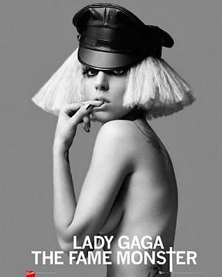 Lady Gaga : The Fame Monster - Mini Poster 40cm X 50cm New And Sealed • 5.49£