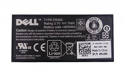 $22.90 • Buy Dell PE PERC H700 3.7V RAID NU209  Battery