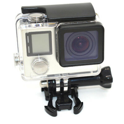 AU19.95 • Buy Waterproof Diving Surfing Protective Housing Case For GoPro Hero 4 Silver/Black