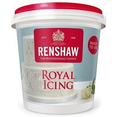 Renshaw Ready Made Royal Icing For Cakes Cupcakes Spread Decorating Piping 400g • 5.49£