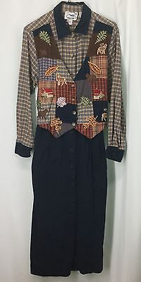 AU24.99 • Buy Country Wear Clothing Company Dress See Measurements In Photos 6-8 161127/WHB