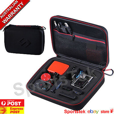 AU48.99 • Buy GoPro® HERO 9,8,7,6 & 5 QUALITY CARRY CASE For GoPro And Accessories HARD SHELL
