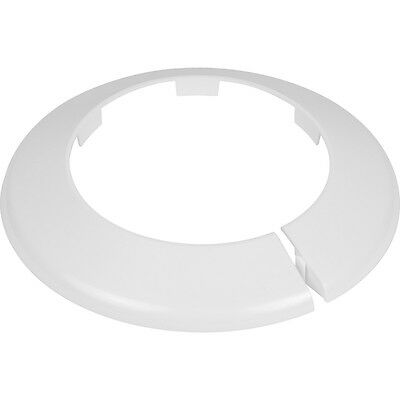 Toilet Soil Pipe Cover / Collar - 4 Inch / 110mm White - Easy Fit * • 5.99£