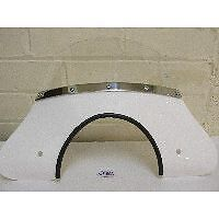Vespa PX PE T5 CLassic LML Mod Flyscreen With Fixings In White Cuppini Italian • 53£