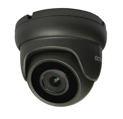 5MP IP NETWORK CCTV GREY DOME POE CAMERA, 2.8mm FIXED LENS UP TO 20m IR • 53.99£
