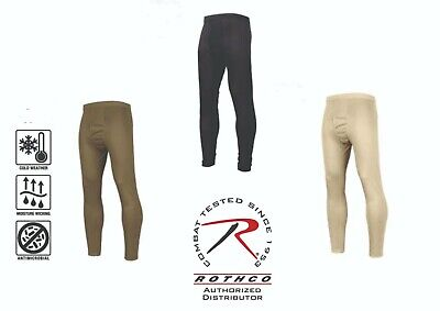 $14.99 • Buy Rothco Thermal Underwear Long Johns  Military Gen III ECWCS Silk Weight PANTS