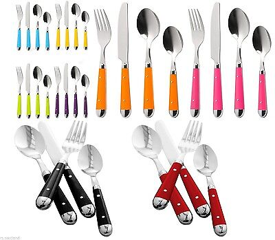 Cutlery Set High Quality Stainless Steel In Different Colours New Style Dinning • 5.99£