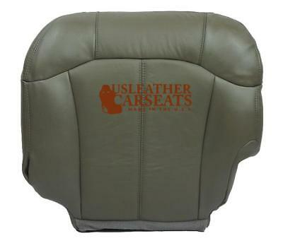 $105.99 • Buy 1999-2002 GMC Sierra 1500 2500 Driver Side Bottom Leather Seat Cover Pewter Gray