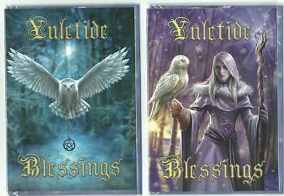 Yule/Christmas/Midwinter Solstice Festive Cards Pagan/Wicca Fantasy Gothic  • 2.95£