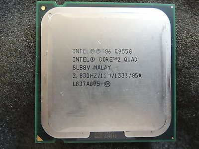$ CDN35.16 • Buy Intel Core 2 Quad Q9550 2.83 GHz 12M 1333 Quad-Core Processor LGA775 CPU