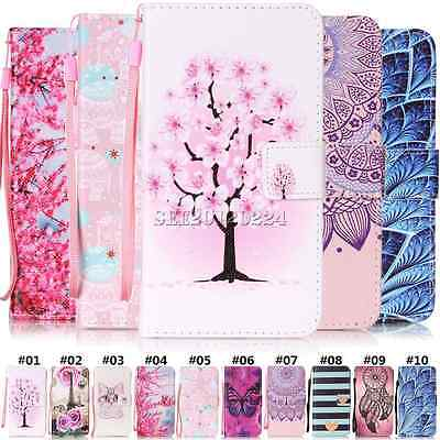 AU5.73 • Buy For Lenovo Wiko Protective Cover PU Leather Stand Cute Card Slot Flip Back Case