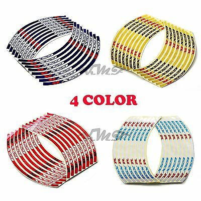 $5.20 • Buy Reflective Rim Stripe Wheel Tape Decal Stickers For Suzuki GSXR1000/750/600 New