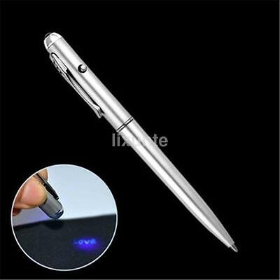 Invisible Ink Spy Pen Built In UV Light Magic Secret Message Gadget New • 1.50£