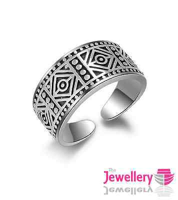 925 Sterling Silver 9mm Celtic Band Ring Jewellery Mens Womens Unisex Gifts Uk • 4.09£