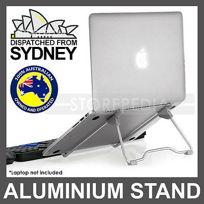 AU15.75 • Buy Laptop Stand Aluminium IPad Holder Folding Adjustable Notebook Cooling Ergonomic