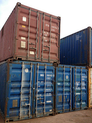 AU3900 • Buy 20ft / 6m 8'6ft High GP Shipping Container B Grade