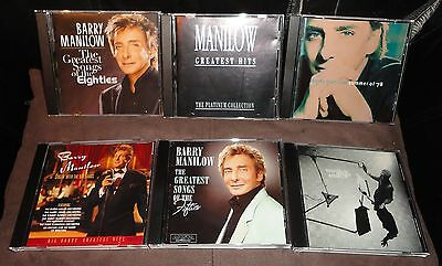 Selection Of 6 Barry Manilow CD Albums • 11.99£