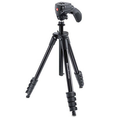 AU108.85 • Buy Manfrotto Compact Action Tripod W/ Hybrid Head