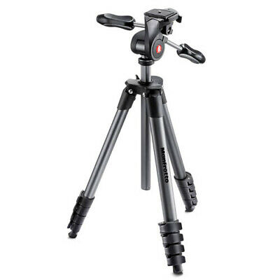 AU148.85 • Buy Manfrotto Compact Advanced Tripod With 3-Way Head