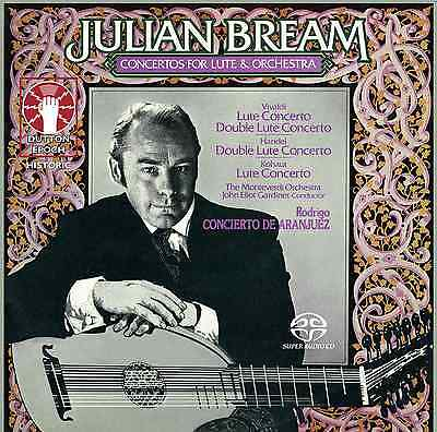 Julian Bream • Concertos For Lute And Orchestra - CDLX7333 • 12.99£