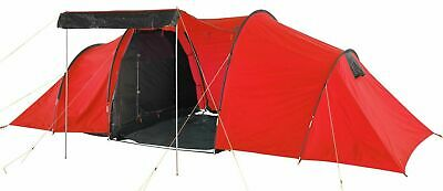 Pro Action 6 Man Tent 1 Bedroom Tunnel Tent BRAND NEW • 99.99£