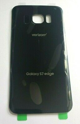 $ CDN6.67 • Buy Samsung Galaxy S7 Edge Verizon G935V Back Glass Cover Battery Door Black