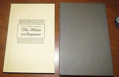 $14.95 • Buy Heritage Club The Moon & Sixpence By Maugham 1941 W/slipcover & Insert MINT!