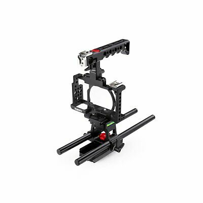 $ CDN180.01 • Buy Camera Cage Rail Rod Support For SONY Alpha A6000 A6300 ILCE-6000 6300 NEX-7