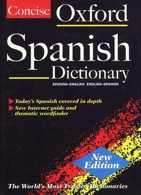 The Concise Oxford Spanish Dictionary: Spanish-English/English-Spanish By Carol • 3.55£