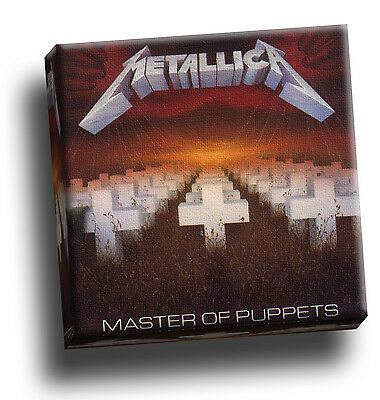 Metallica Master Of Puppets Giclee Canvas Album Cover Picture Art • 18.60£