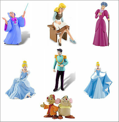 £8.95 • Buy Official Bullyland Disney Cinderella Figures Figurines Toys Cake Topper Toppers