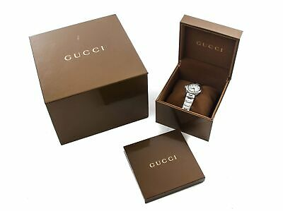 3374ea9aa30 Authentic Gucci Pantheon Ladies Stainless Steel Watch • 420.00