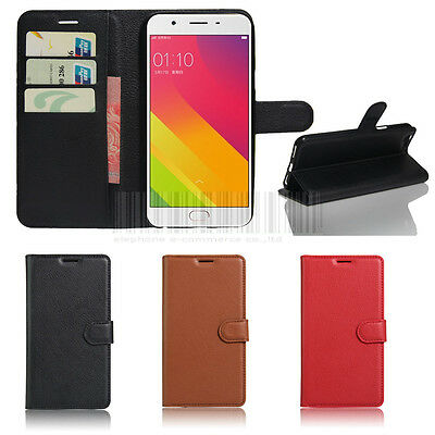 AU4.74 • Buy Wallet Leather PU Flip Case Cover For Oppo F1S A1601 A59