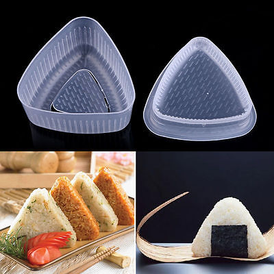 Triangle Form Mould Sushi DIY Onigiri Rice Ball Bento Press Maker Mold Tool /EN • 1.42£