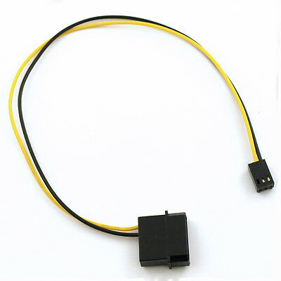 $3.99 • Buy 4-Pin Molex/IDE  To 3-Pin CPU/Chasis/Case Fan Power Connector Cable Adapter 12