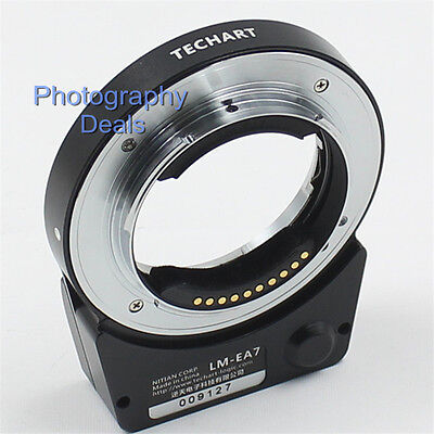 $ CDN350.66 • Buy 6.0 TECHART LM-EA7 II AF Adapter For Leica M Lens To Sony E A7II A7RIII A6500 A9