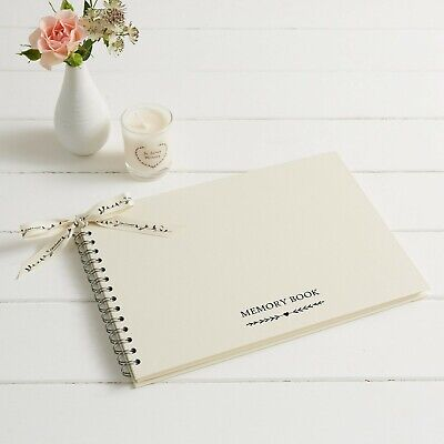 £17.99 • Buy A4 Large Memory Condolence Book For Funeral Or Celebration Of Life