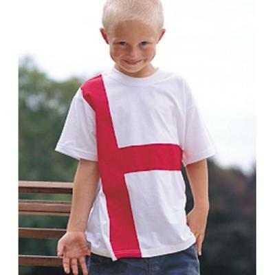 £4.99 • Buy St Georges Day T Shirt /England Flag T-Shirt Children`s All Sizes Kids St George