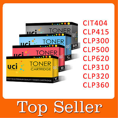Lot Toner Cartridge For Samsung CLP360 CLP320 CLP310 CLT404 CLP415 CLP620 CLP300 • 17.99£