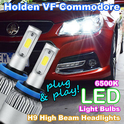 AU79.95 • Buy Plug-and-Play H9 6500K LED Headlight Bulbs To Suit Holden VF Commodore High Beam