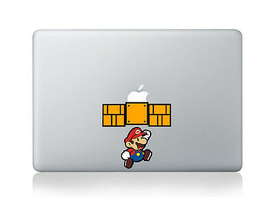 $9 • Buy Super Mario Sticker Viny Decal For Laptop And Macbook Air/Pro/Retina 13 15 17